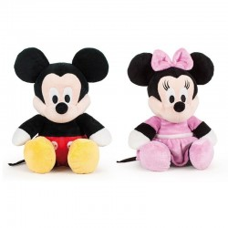 Peluches Mickey & Minnie Flopsie 36cm