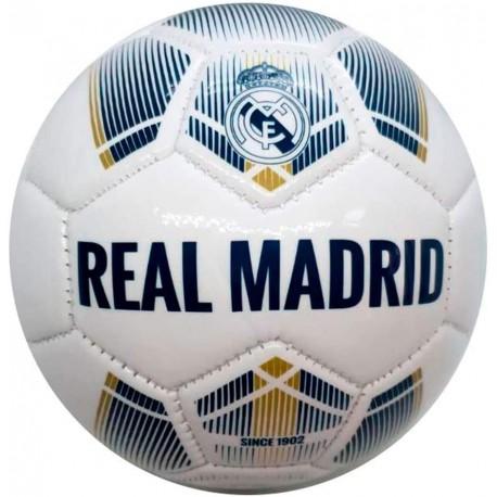 Balón Real Madrid Negro Pentagonal - Juguetes