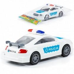 Coche Policia - Superfricción en Bolsa Transparente