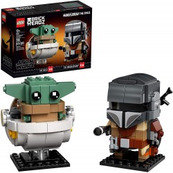 El Mandaloriano y el Niño, Baby Yoda - Lego Brickheadz