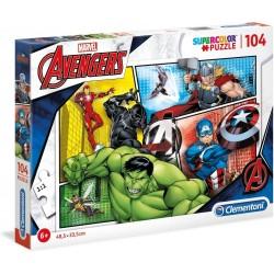 Puzzle Avengers 104 Piezas.- Super Color