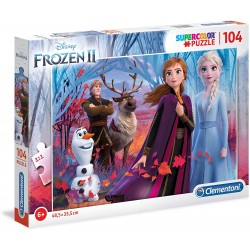 Puzzle Frozen II 104 Piezas - Super Color
