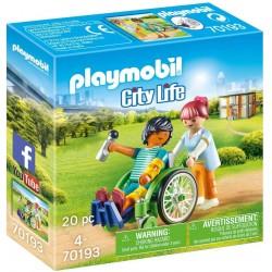 Paciente en silla de ruedas - Playmobil