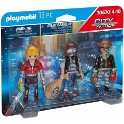 Set Figuras Ladrones - Playmobil