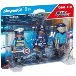 Set Figuras Policías - Playmobil
