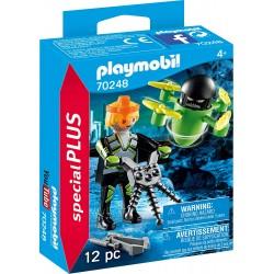 Agente con Dron - Playmobil