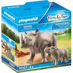 Rinoceronte con Bebe - Playmobil