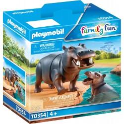 Hipopótamo con Bebé - Playmobil