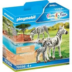 Cebras con Bebé - Playmobil