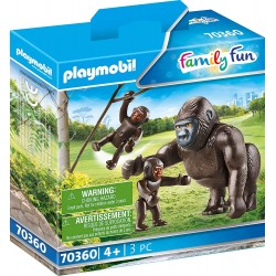 Gorila con Bebés - Playmobil