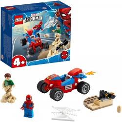Batalla Final entre Spiderman y Sandman - Lego