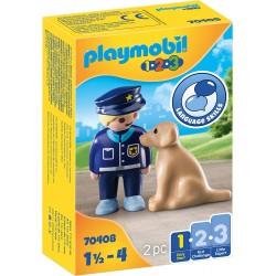 Policía con Perro - Playmobil