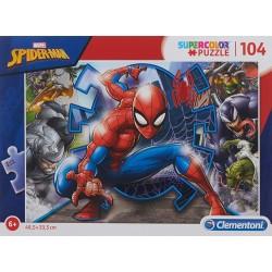 Puzzle Spiderman 104 pzs.- Super Color