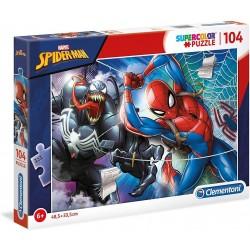 Puzzle Spiderman 104 Piezas.- Super Color