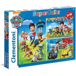 Puzzle Patrulla Canina 3x48 Piezas.- Super Color