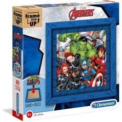 Puzzle Vengadores Avengers Marvel Frame Me Up 60pzs. con Marco