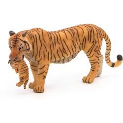 Tigre hembra y su cría - Papo