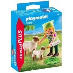 Granjera con Ovejas - Playmobil