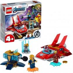 Iron Man vs Thanos - Lego