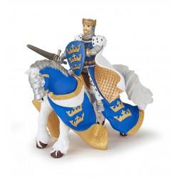 Caballo del Rey Arturo Azul - Papo