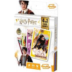 Baraja Harry Potter Shuffle 4 juegos en 1 - Cartas