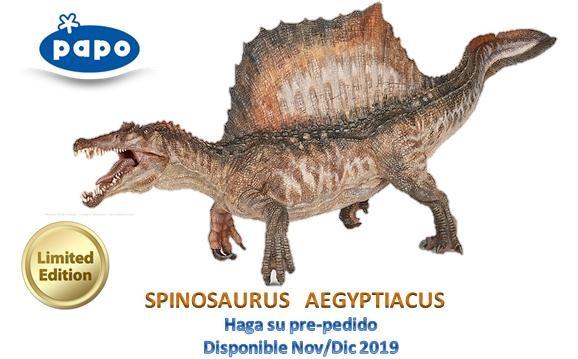 Spinosaurio Exclusivo Edición Limitada PAPO